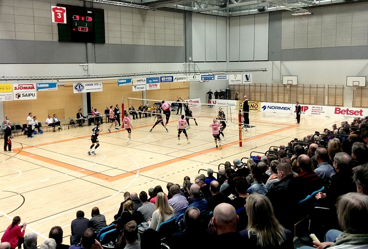 Sampo Volley on lentopallon SM-pronssimitalisti 2018