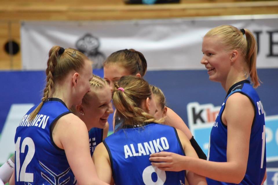 Suomen lentopallomaajoukkueet Euroopan kultaiseen liigaan