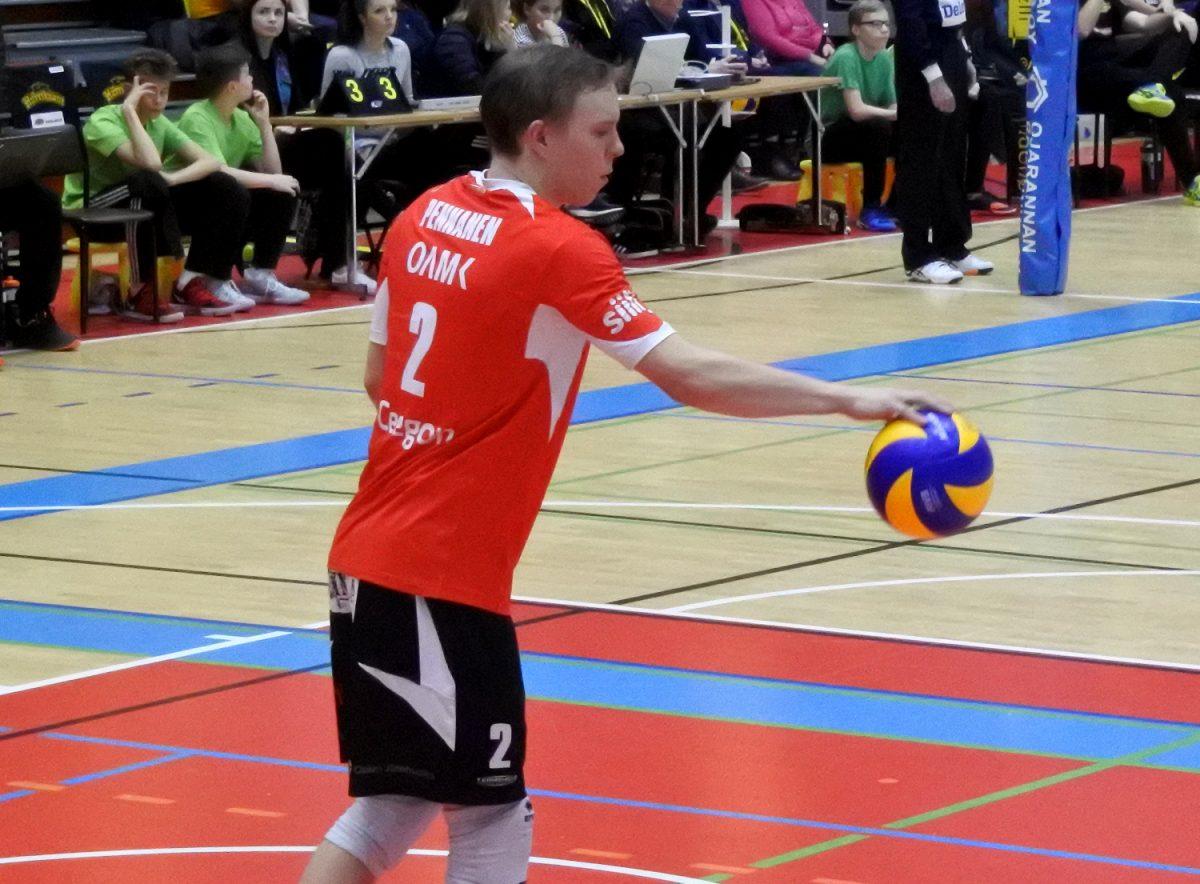 """Lentopalloilija Eetu Pennanen iski entistä joukkuettaan vastaan: """"Pakko myöntää, oli pieni lisälataus"""""""
