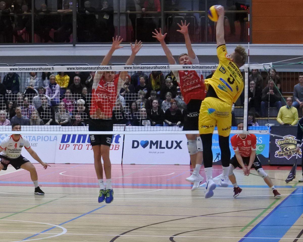Tähtipelaaja Antti Ropponen saattaa olla sivussa loppukauden – lentopallon voimasuhteet myllerryksessä