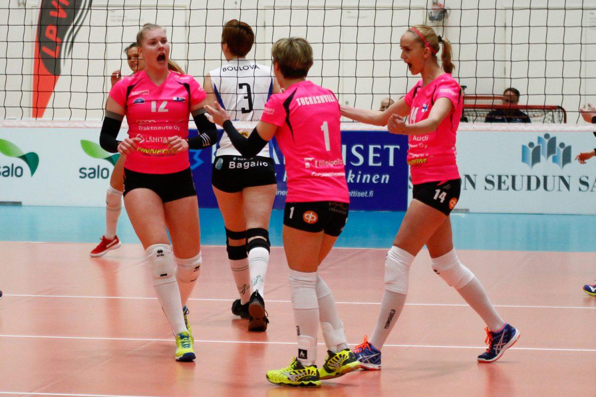 LP Viesti voittaa naisten Mestaruusliigan runkosarjan