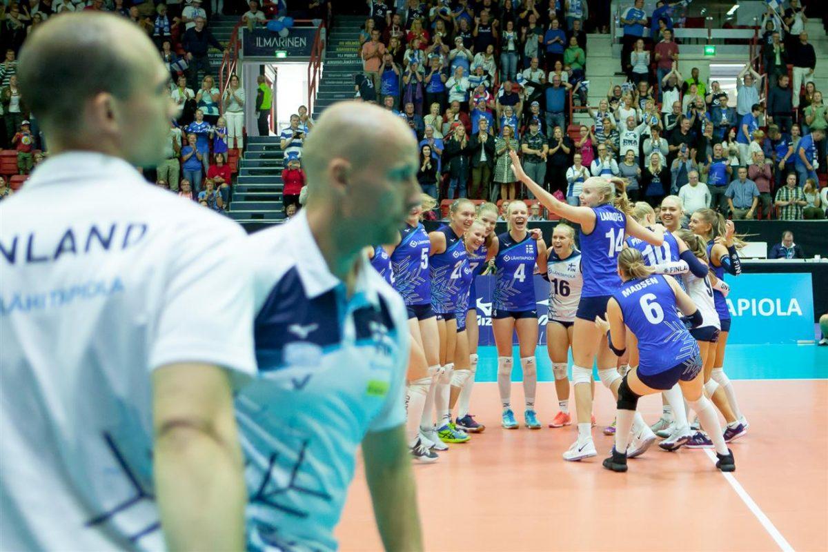 Suomen lentopallonaisilla tekemisen meininki: tappiotilanteesta voittoon
