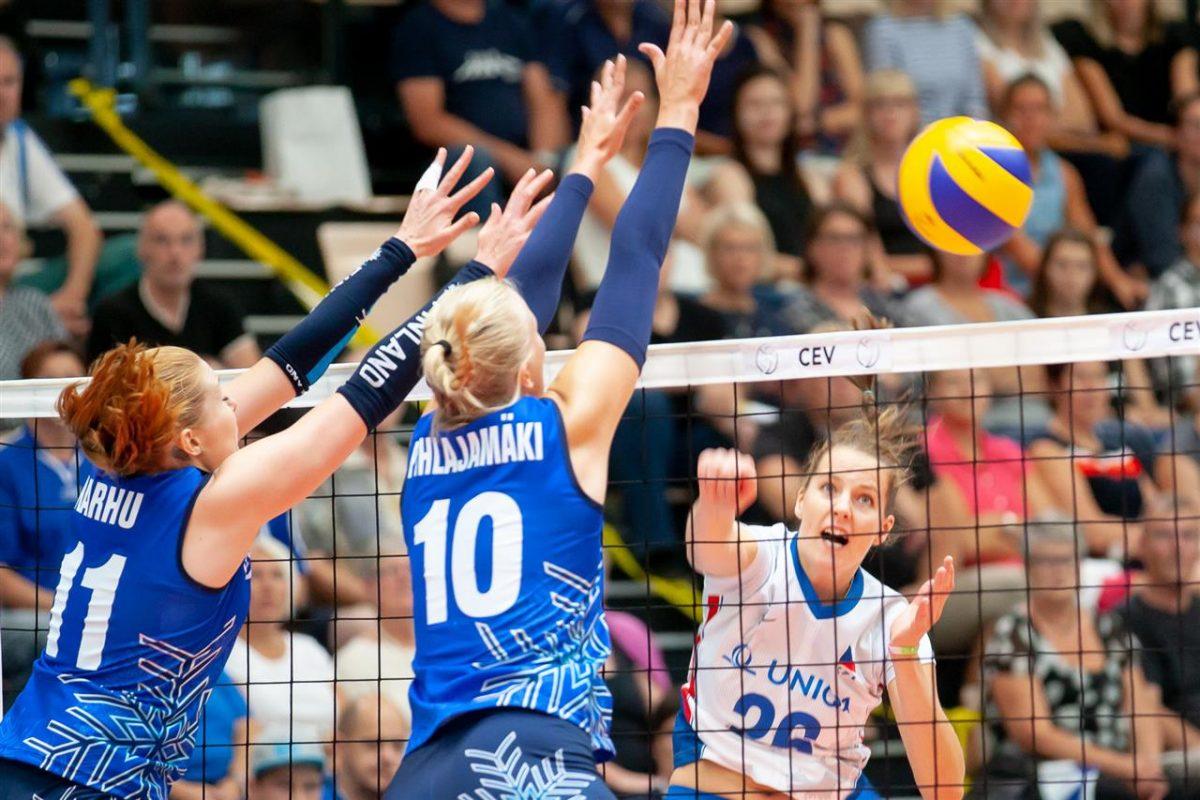 Lentopallo: Suomen naiset jäävät alkulohkoon Euroopan kultaisessa liigassa
