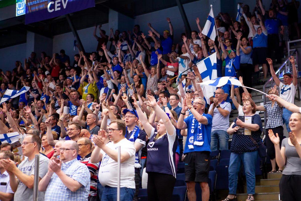 Suomen pojat lentopallon EM-kisoihin