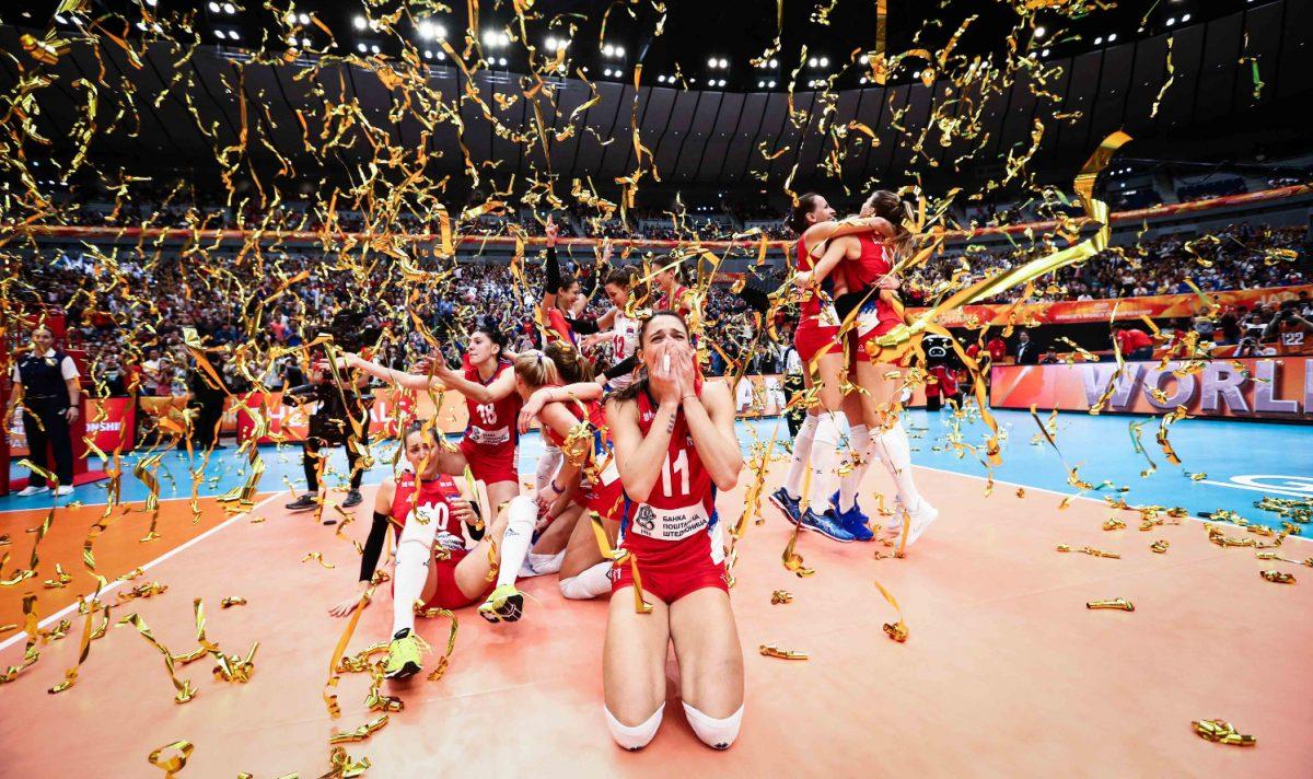 Lentopallon naisten MM-kisat: Serbia maailmanmestaruuteen