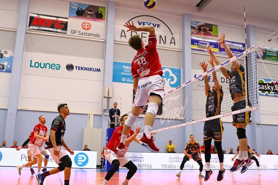 VaLePa vastaan Savo Volley: keskiviikkona pelissä liigapisteet, sunnuntaina Suomen Cupin mestaruus
