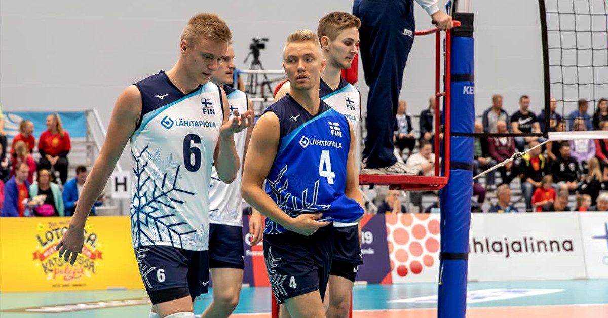 Suomen lentopallomiehet putosivat Euroopan kultaisesta liigasta