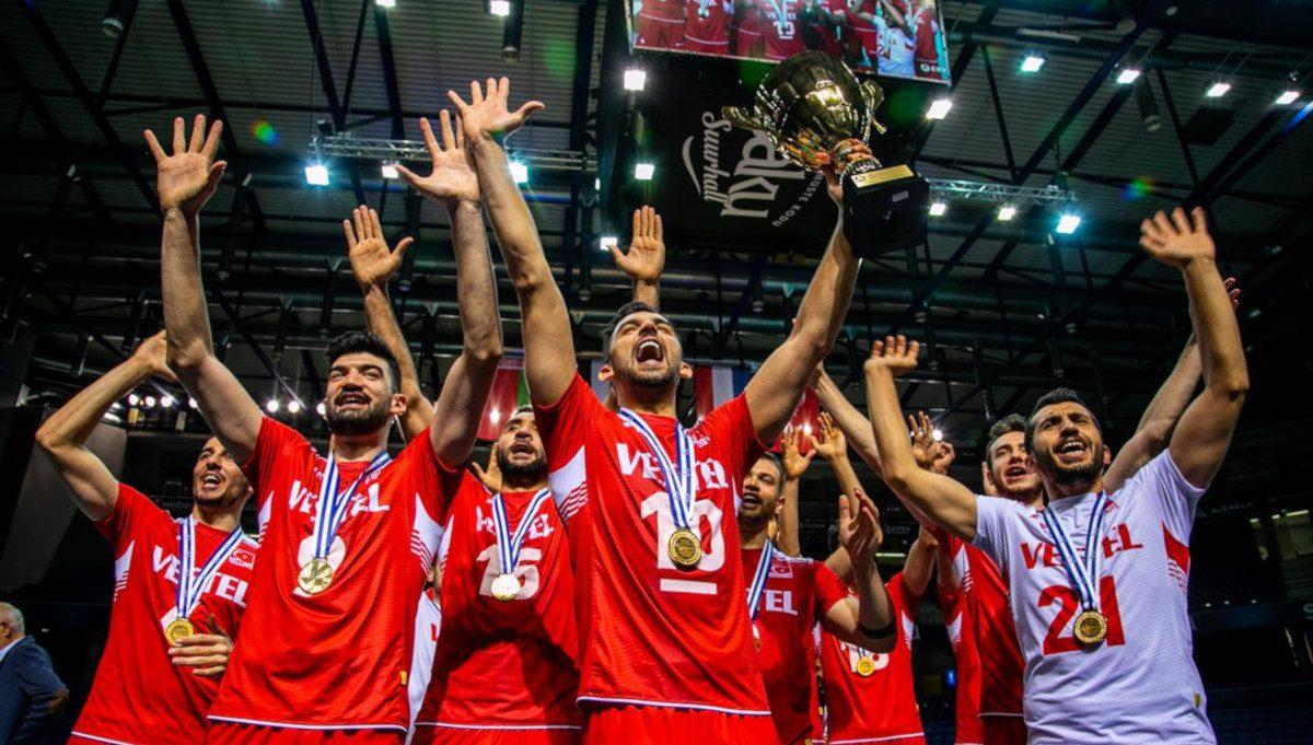 Euroopan kultainen liiga: Turkki lentopallon kesäliigan mestari 2019