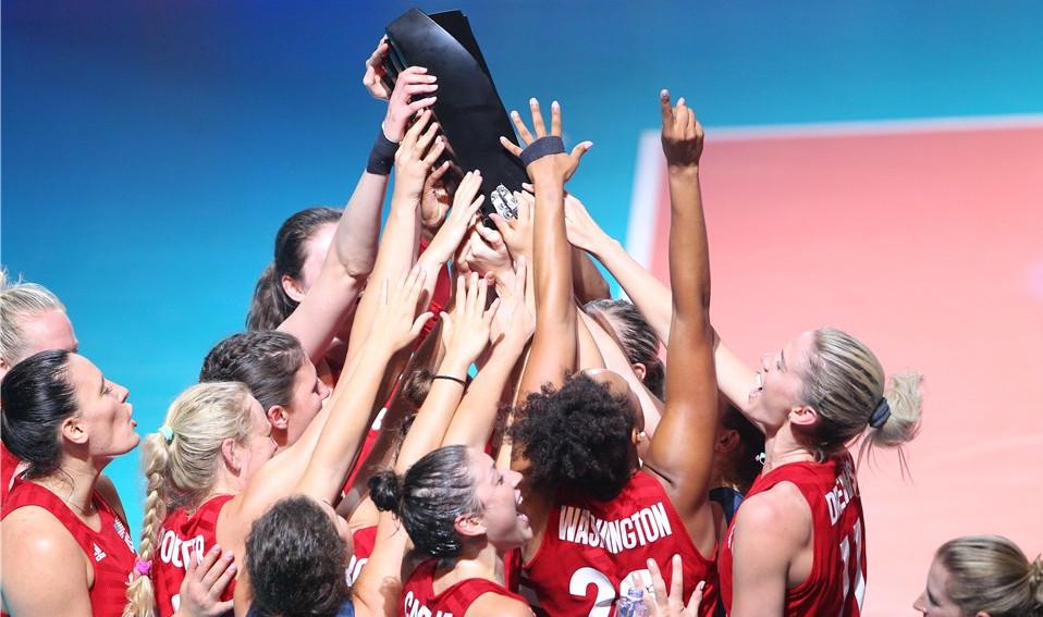 Volleyball Nations League: Yhdysvaltojen naiset voittivat lentopallon kansainvälisen huippuliigan 2019