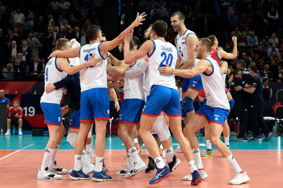 Lentopallon EM-kisat 2019: Serbia Euroopan mestari