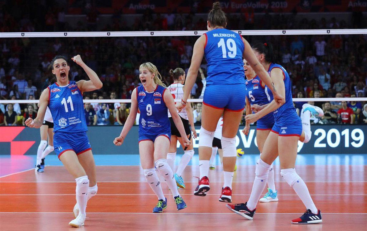 Lentopallon naisten EM-kisat: Serbia on Euroopan mestari 2019