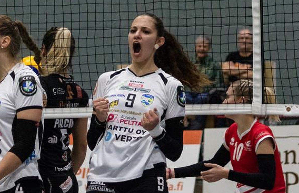 Iina Andrikopoulou: lupaava lentopalloilija siirtyy LP Viestiin