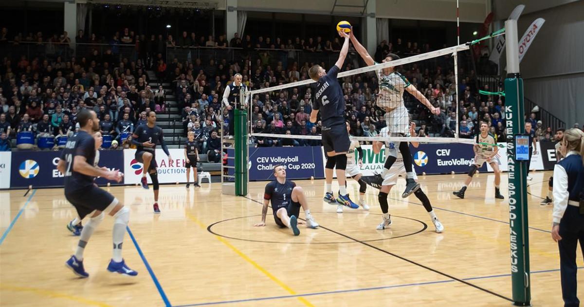 Koronavirus vaikuttaa lentopalloonkin: virolaisjoukkue Saaremaa sai ylimääräisen ottelun kotikentälle