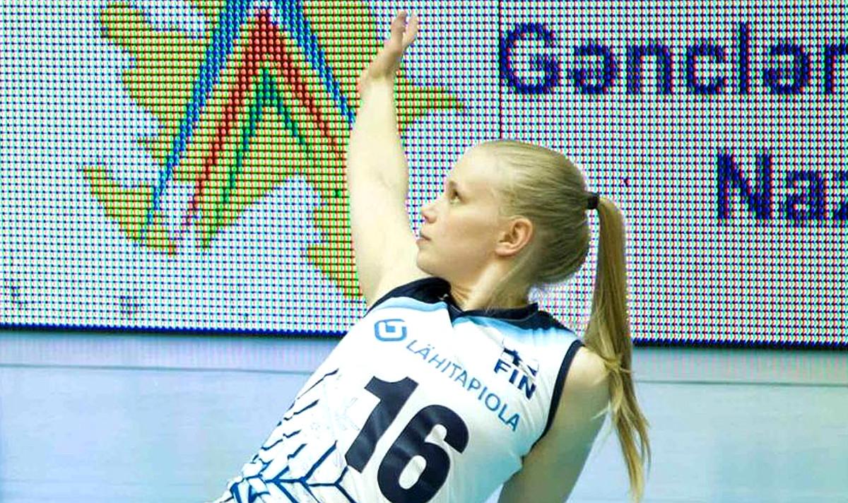Yleisö äänesti: Tiiamari Sievänen paras pelaaja lentopallon naisten Mestaruusliigassa