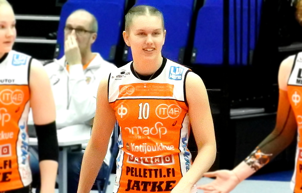 Lentopallon maajoukkuepelaaja Yasmine Madsen siirtyy Hämeenlinnaan