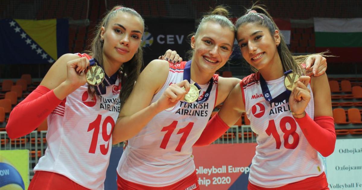 Lentopallon EM-kisat: Turkki voitti nuorten Euroopan mestaruuden