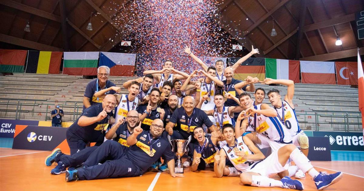 Lentopallon EM-kisat 2020: Italia nuorten Euroopan mestaruuteen